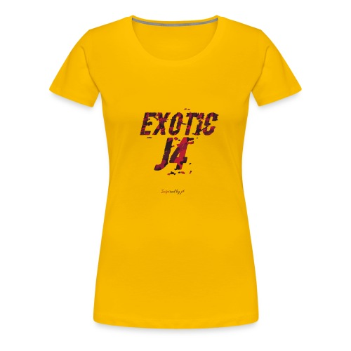 EXOTIC j4 collection - Women's Premium T-Shirt
