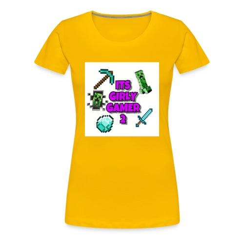 ItsGG2 Logo - Premium T-skjorte for kvinner