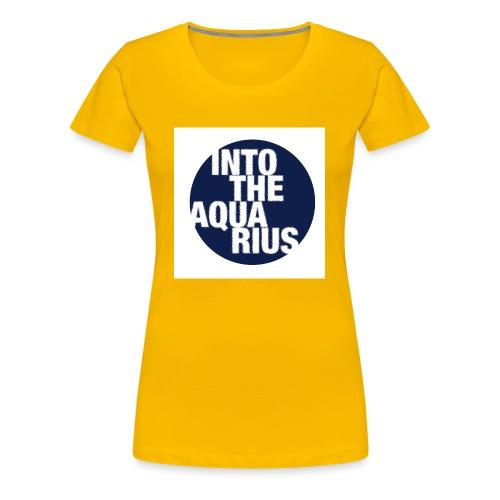 INTOTHEAQUARIUS - Maglietta Premium da donna