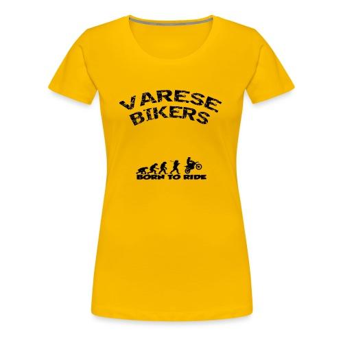 Varese Bikers - Maglietta Premium da donna