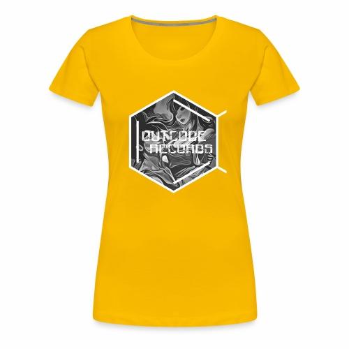 Outcode Records Art - Camiseta premium mujer