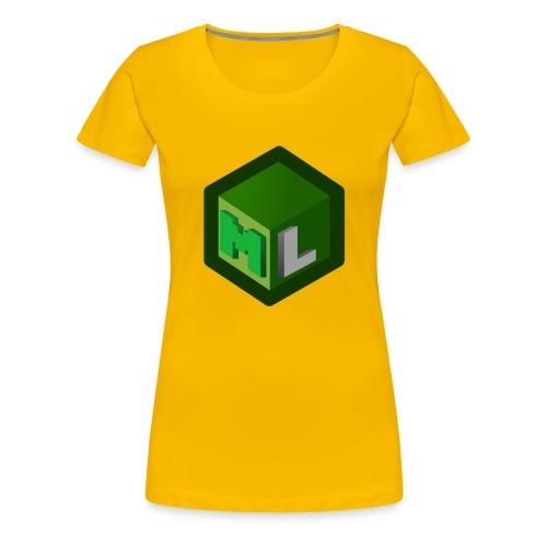 Logo ML - Women's Premium T-Shirt
