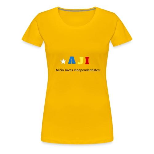 merchindising AJI - Camiseta premium mujer