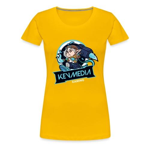 KevMedia GAMING new design 2021 - Frauen Premium T-Shirt