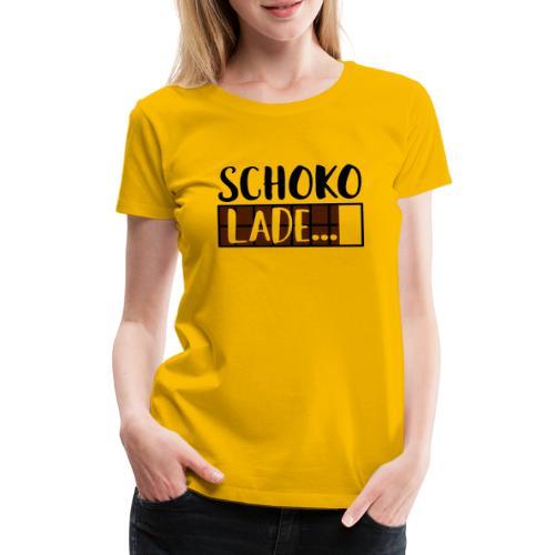 Schokolade Ladebalken Nerd Weihnachtsgeschenk - Frauen Premium T-Shirt