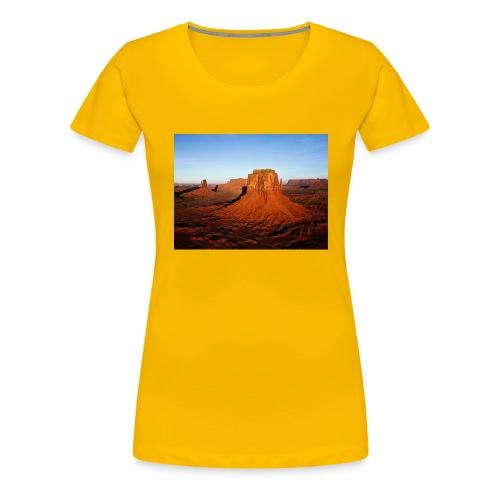 Desert - Camiseta premium mujer