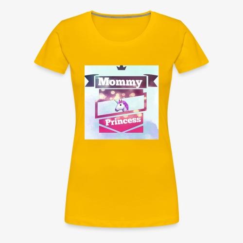 Mommy & Princess - Frauen Premium T-Shirt