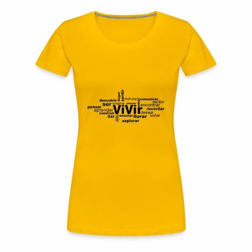 baf794f854548252ca9c2d7cfb2e5d2a - Camiseta premium mujer