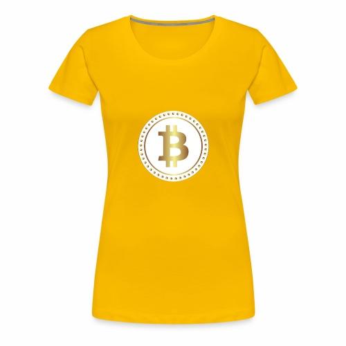 bitcoin 2670336w - Frauen Premium T-Shirt