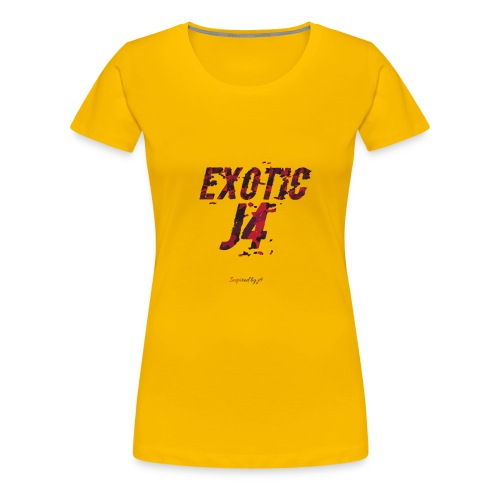 EXOTIC j4 collection - Women's Premium T-Shirt