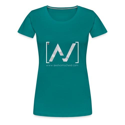 logoalpha blanc - T-shirt Premium Femme