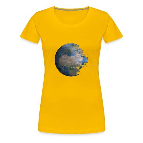 Death Earth - T-shirt Premium Femme