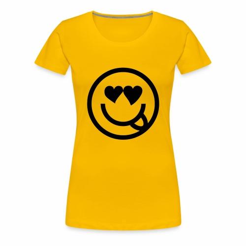 EMOJI 19 - T-shirt Premium Femme
