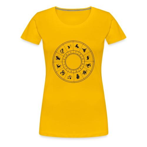zodiac - Women's Premium T-Shirt