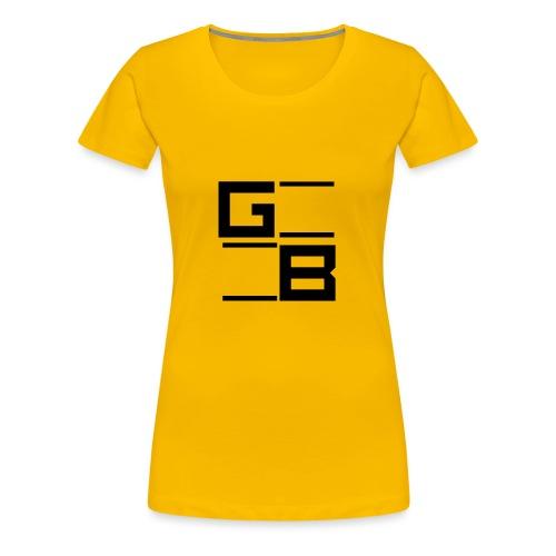 logo gwn besher - Vrouwen Premium T-shirt