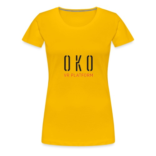OKO VR PLATFORM - Women's Premium T-Shirt