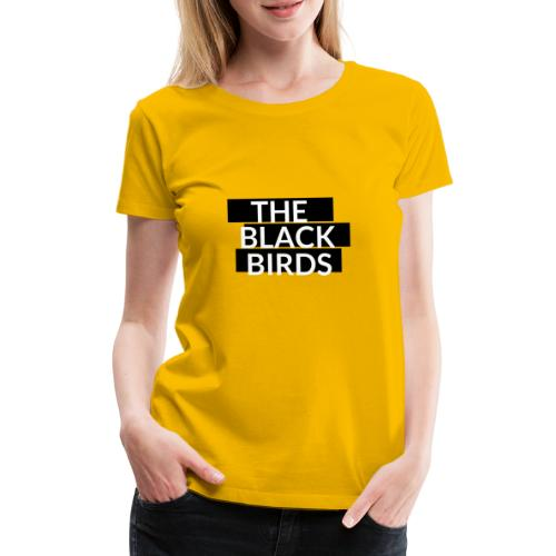 The Black Birds - Maglietta Premium da donna