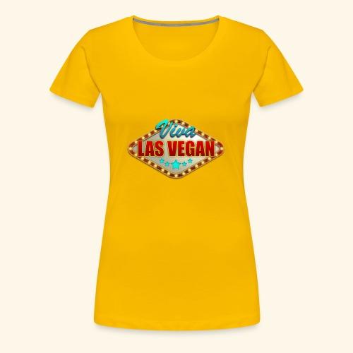 Viva Las Vegan - T-shirt Premium Femme