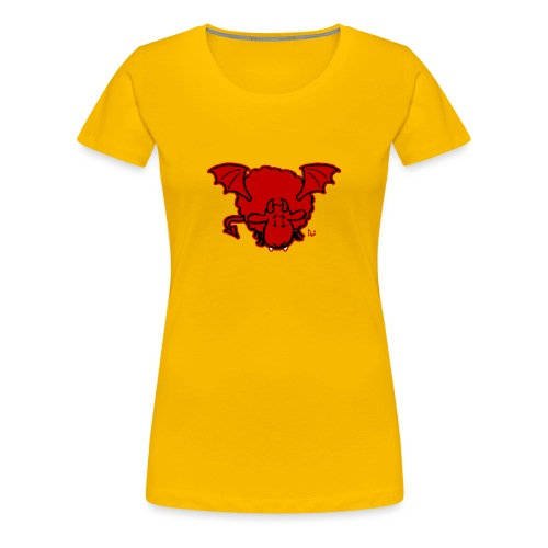 Devil Sheep - Women's Premium T-Shirt