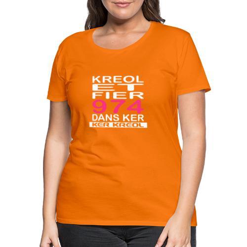 fier et kreol hom 02 ti - T-shirt Premium Femme