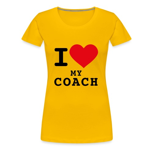 CMG Coach Love - T-shirt Premium Femme