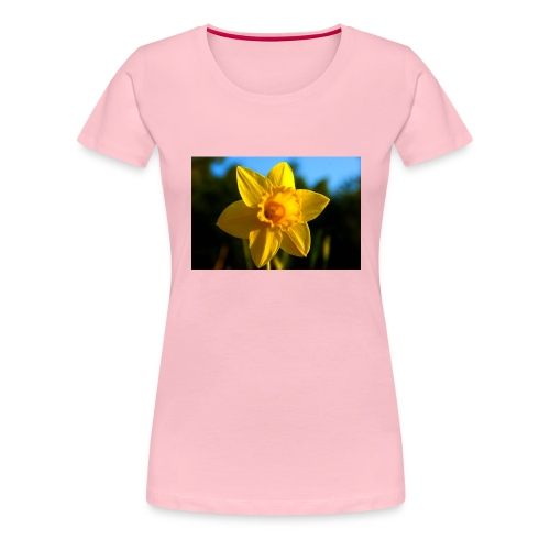 daffodil - Women's Premium T-Shirt