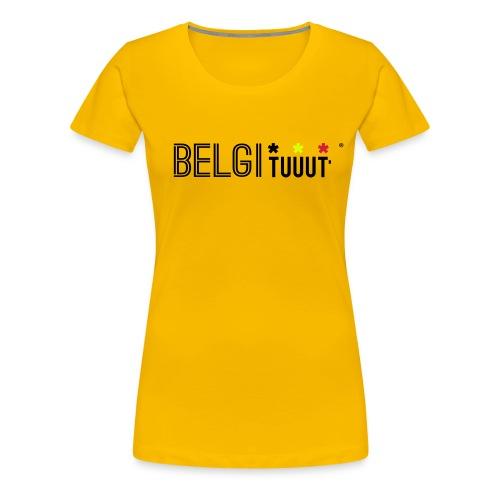 belgituuut - T-shirt Premium Femme