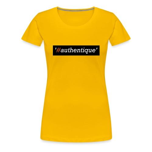 authentique - Women's Premium T-Shirt