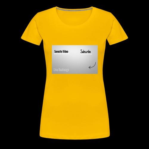 Raahauge Merch - Dame premium T-shirt