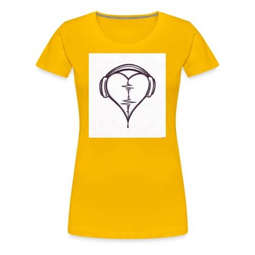 love music - T-shirt Premium Femme