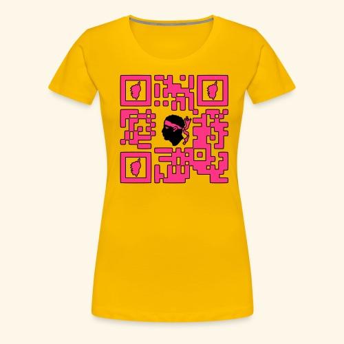 corsica qr code - T-shirt Premium Femme