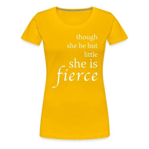 she-is-fierce - Women's Premium T-Shirt