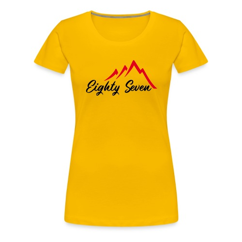Eighty Seven - Frauen Premium T-Shirt