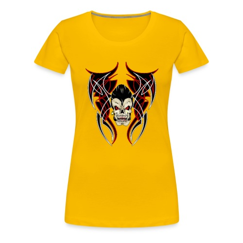 greaser pinstrip - T-shirt Premium Femme