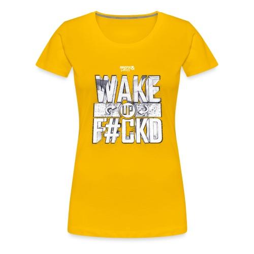 Wufu_wit - Vrouwen Premium T-shirt