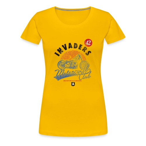 DownloadT-ShirtDesigns-com-2121724 Invaders - Women's Premium T-Shirt
