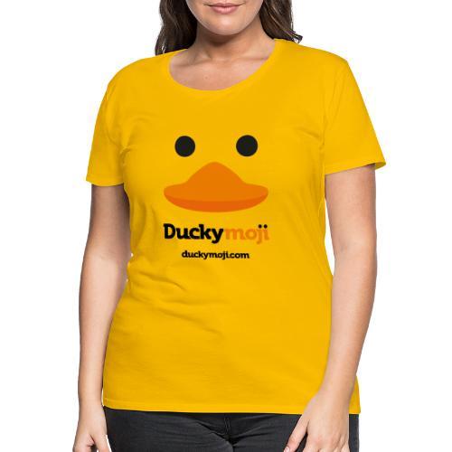 ducky standard logo - Frauen Premium T-Shirt