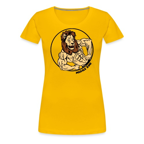 King Of The Muscle Jungle - Women's Premium T-Shirt