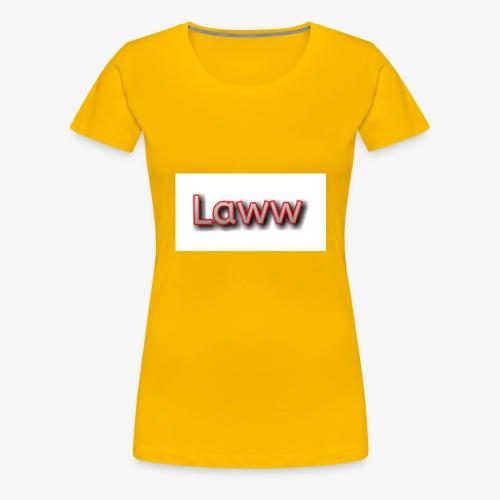 Sweatshirt gris laww - T-shirt Premium Femme