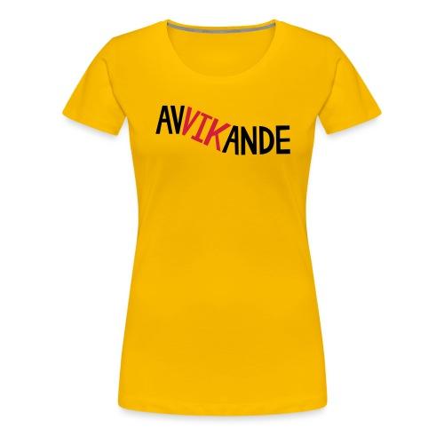 AVVIKANDE - Premium-T-shirt dam