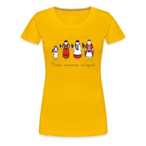 Toda persona - Premium-T-shirt dam