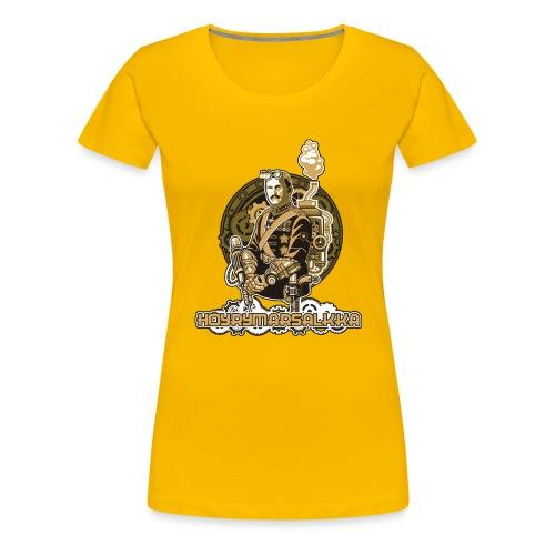 Höyrymarsalkkan perinteinen t-paita - Naisten premium t-paita