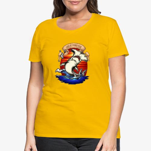 König des Ozeans - Frauen Premium T-Shirt