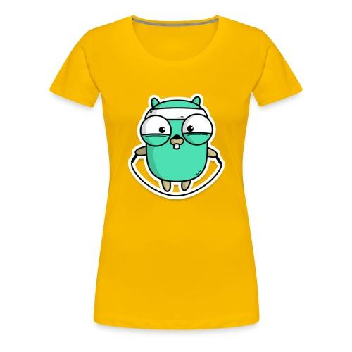Gophercise - Frauen Premium T-Shirt
