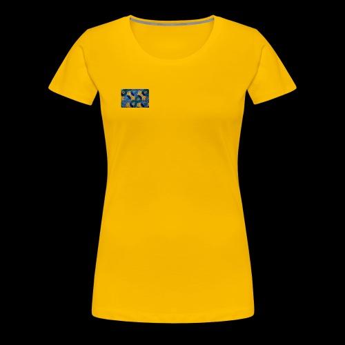 Afro-print - Women's Premium T-Shirt