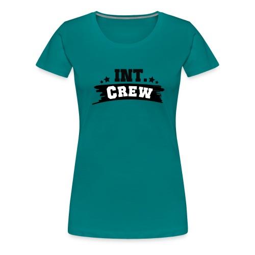 International Crew T-Shirt Design by Lattapon - Dame premium T-shirt