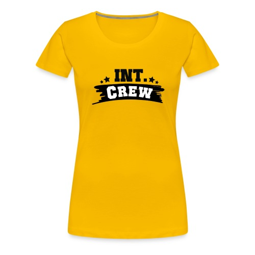 International Crew T-Shirt Design by Lattapon - Dame premium T-shirt