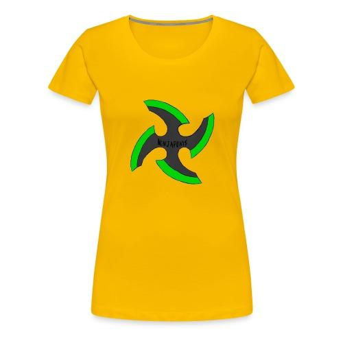 black-ronin-throwing-star-jpg_1 - Women's Premium T-Shirt