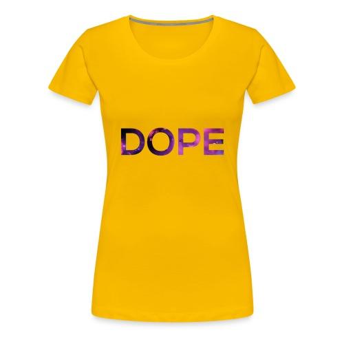 DOPE T-SHIRT - Women's Premium T-Shirt