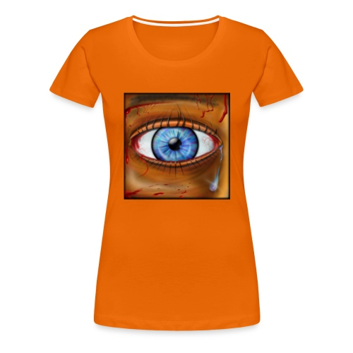 Hyperspace Potato Eye - Women's Premium T-Shirt